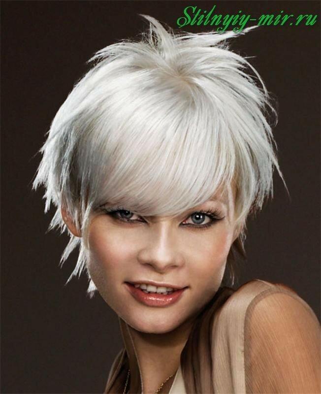 Модная покраска волос 2017 на короткие волосы фото