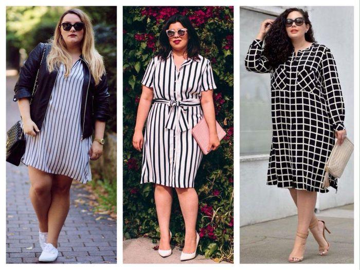 Фасоны платьев для полных женщин: обзор моделей