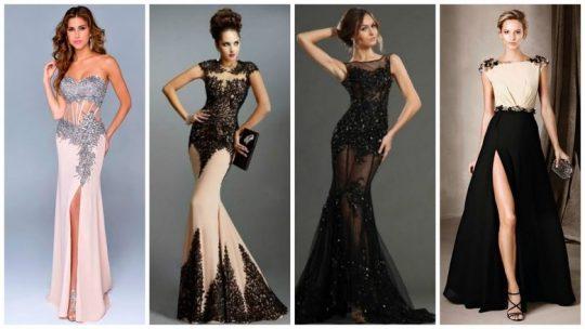 Красивые вечерние платья: стильные идеи и варианты выбора модных аксессуаров-видео, фото)