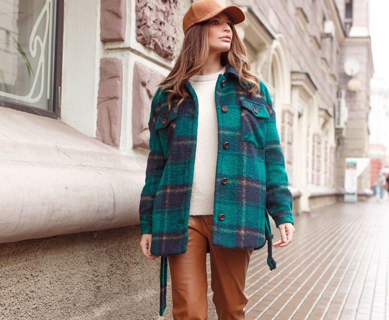Пальто-рубашка 2021 — самые стильные варианты