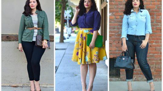 Самая стильная одежда для полных девушек 2021: фото, тренды